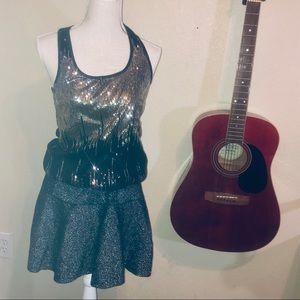 🎶BOGO Glittery Skirt!